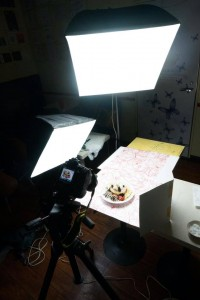 料理写真 ライティング