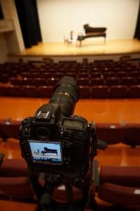 ピアノ発表会 カメラセッティング