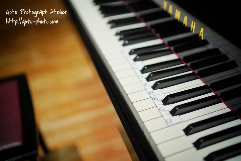 ピアノ発表会の写真撮影